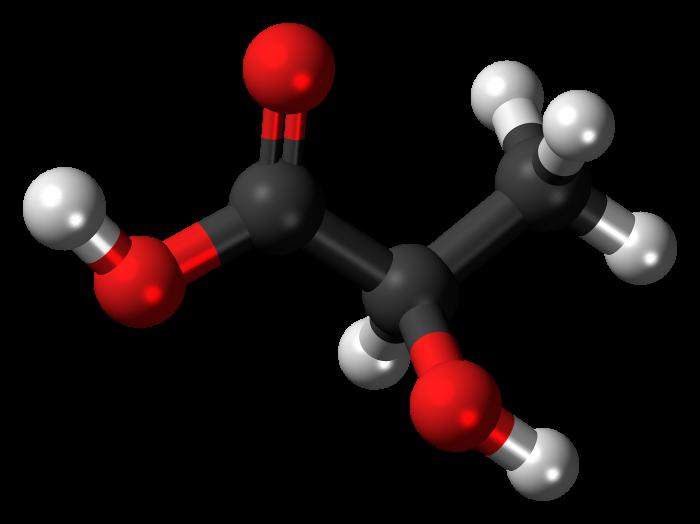 Acido lattico-chimicamo
