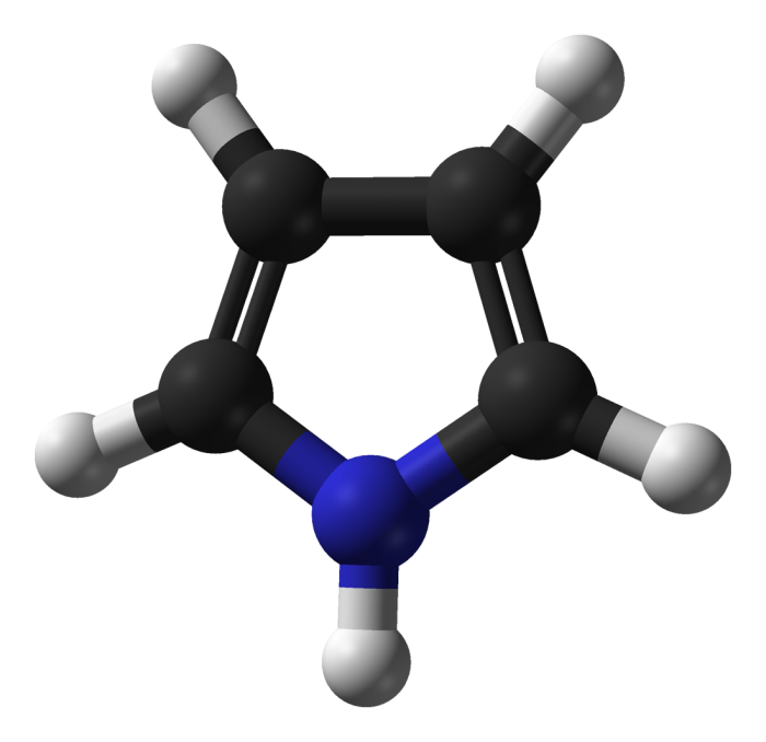 Il pirrolo-un eterociclo aromatico a cinque termini-chimicamo