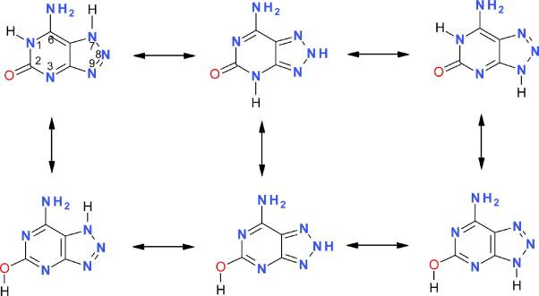 tautomeria idrogeno