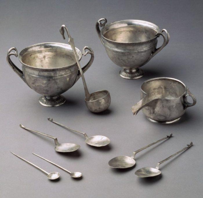 Pulizia dell'argento-chimicamo