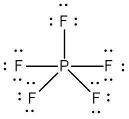 fosforo pentafluoruro