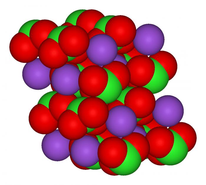 Clorato di potassio- chimicamo