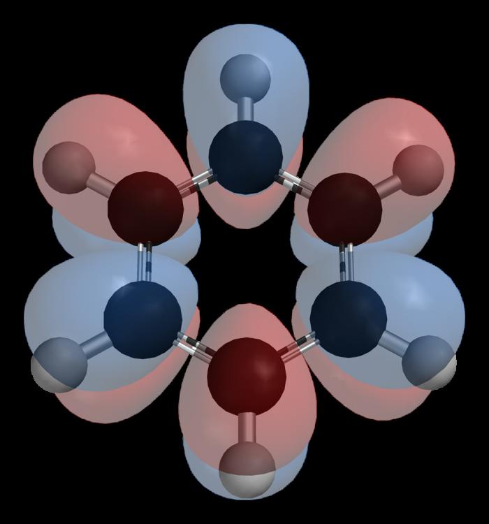 Struttura molecolare del benzene-chimicamo
