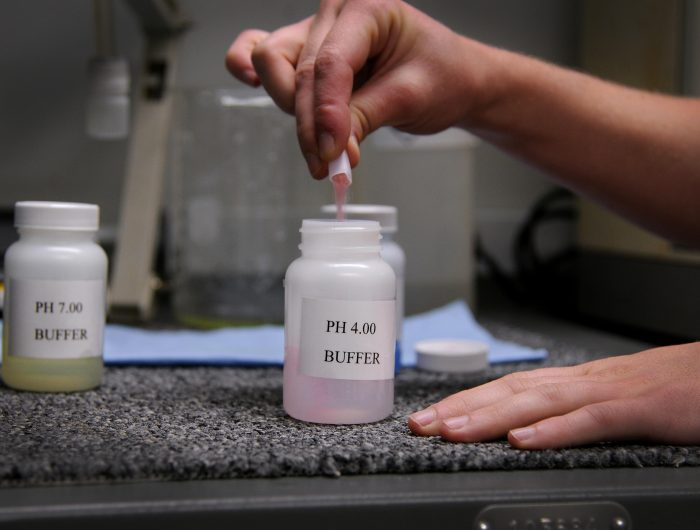 Preparazione di una soluzione tampone-chimicamo