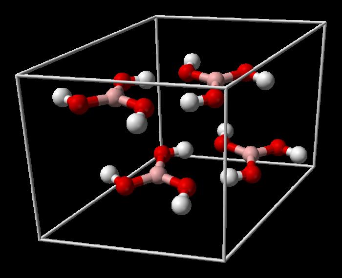 Acido borico-chimicamo