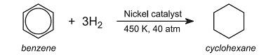 riduzione benzene