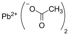 acetato di piombo