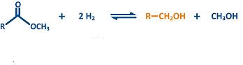 idrogenolisi esteri