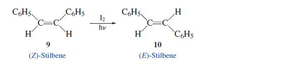 stilbene isomerizzazione