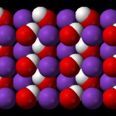 Proprietà degli idrossidi