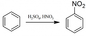 nitrazione benzene