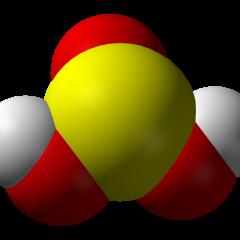 Acido solforoso