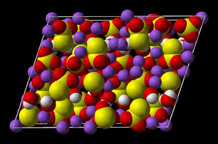 Determinazione qualitativa del tiosolfato-chimicamo