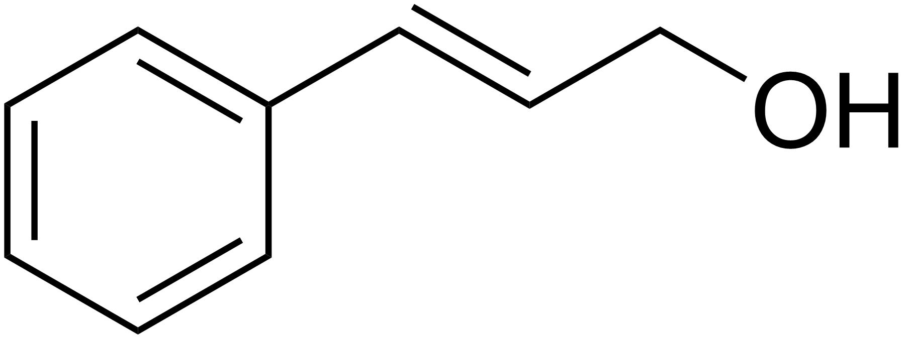 struttura alcol cinnamilico