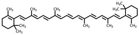 struttura β-carotene-chimicamo