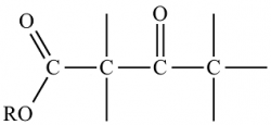 struttura β-chetoesteri-chimicamo