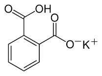 struttura biftalato di potassio