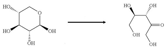 xilulosio struttura